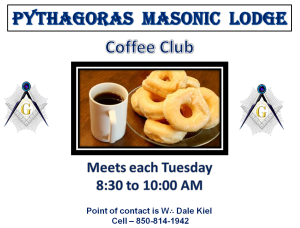 Come join us on Tuesday mornings